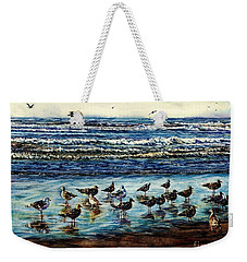 Seagull Get-together Weekender Tote Bag
