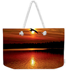 Seagull Homeward Bound Weekender Tote Bag by Carol F Austin