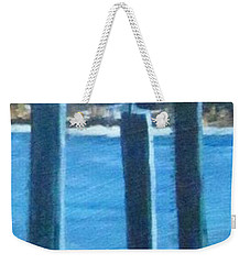 Seagull On A Stick Weekender Tote Bag