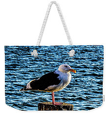 Seagull Perch Weekender Tote Bag
