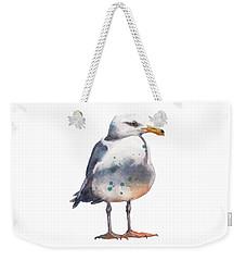 Seagull Print Weekender Tote Bag