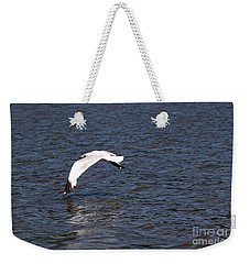 Weekender Tote Bag featuring the photograph Seagull by Yumi Johnson