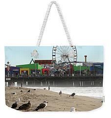 Seagulls And Ferris Wheel Weekender Tote Bag