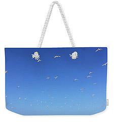 Seagulls And Pier Weekender Tote Bag