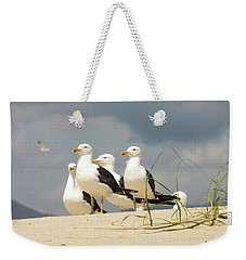 Seagulls At The Beach Weekender Tote Bag