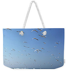 Seagulls In The Morning Weekender Tote Bag