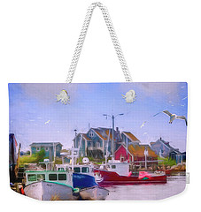 Seagulls Of Peggys Cove Weekender Tote Bag