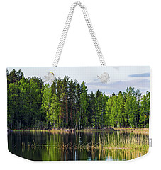 Seaguls Flying And Sun Was Shining Weekender Tote Bag