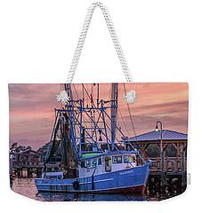 The Seahorse Shem Creek Weekender Tote Bag