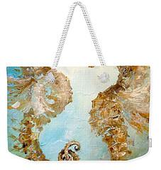 Seahorses In Love 2016 Weekender Tote Bag