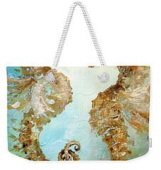Seahorses In Love 2017 Weekender Tote Bag