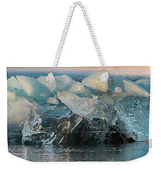 Weekender Tote Bag featuring the photograph Seal Nature Sculpture by Allen Biedrzycki
