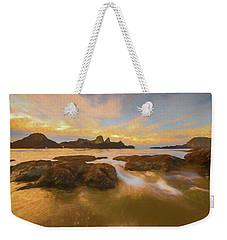 Seal Rock Sunset Weekender Tote Bag