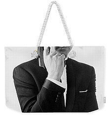 Sean Connery (1930-) Weekender Tote Bag by Granger