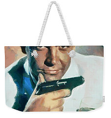 Sean Connery Weekender Tote Bag by Sergey Lukashin