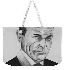 Sean Connery Pencil Drawing Digital Art Weekender Tote Bag
