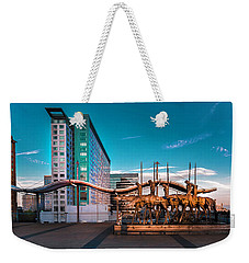'seaport' Weekender Tote Bag