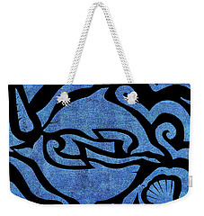 Seascape Cut-out Weekender Tote Bag