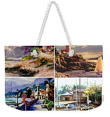 Seascape Gallery Weekender Tote Bag