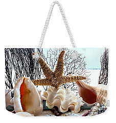 Seashell Galore Weekender Tote Bag