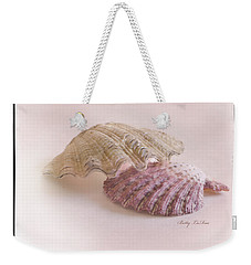 Seashell Love Weekender Tote Bag by Betty LaRue