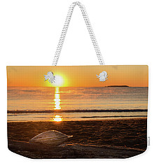 Seashell Sunrise Weekender Tote Bag