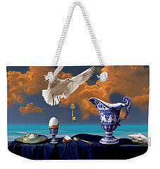 Seaside Breakfast Weekender Tote Bag