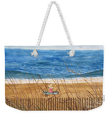 Seaside In Massachusetts Weekender Tote Bag