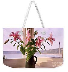 Seaside Lilies Weekender Tote Bag by Terri Waters
