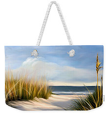 Seaside Path Weekender Tote Bag