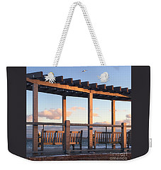 Seaside Seating  Weekender Tote Bag