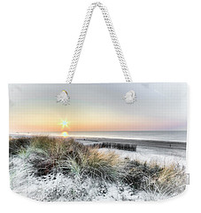 Seaside Sunday Weekender Tote Bag by Nadia Sanowar