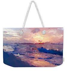 Seaside Swirl Weekender Tote Bag