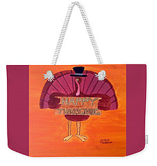 Tradition Holiday Weekender Tote Bag