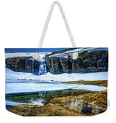 Weekender Tote Bag featuring the photograph Seasonal Worker by Dmytro Korol