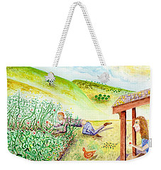 Seasons First Tomatoes Weekender Tote Bag
