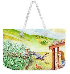 Seasons First Tomatoes Weekender Tote Bag