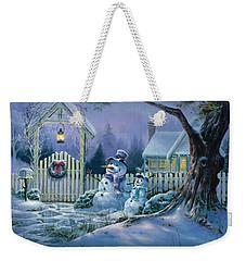 Season's Greeters Weekender Tote Bag
