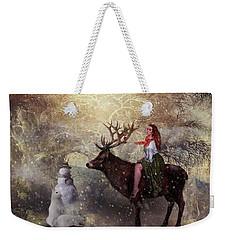 Seasons Greetings Weekender Tote Bag