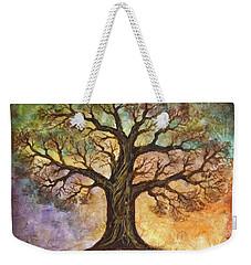 Seasons Of Life Weekender Tote Bag by Agata Lindquist