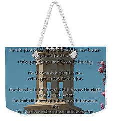 Seasons Weekender Tote Bag