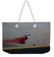 Seat Drops On Indian Canyon Fire Weekender Tote Bag