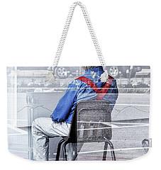 Seated Man Weekender Tote Bag
