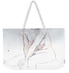 Seated Study 2 Weekender Tote Bag