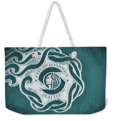 Seattle City Flag Weekender Tote Bag by JC Findley