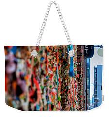 Seattle Gum Wall Weekender Tote Bag