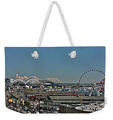Seattle  Weekender Tote Bag by Linda Bianic