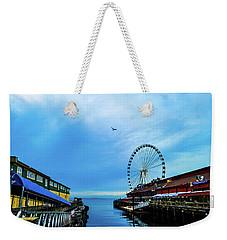 Seattle Pier 57 Weekender Tote Bag
