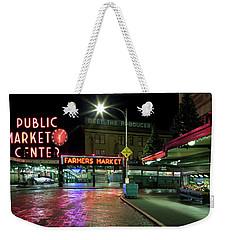 Seattle Public Market 1 Weekender Tote Bag