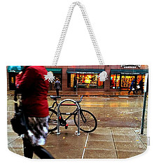 Seattle Rain Weekender Tote Bag